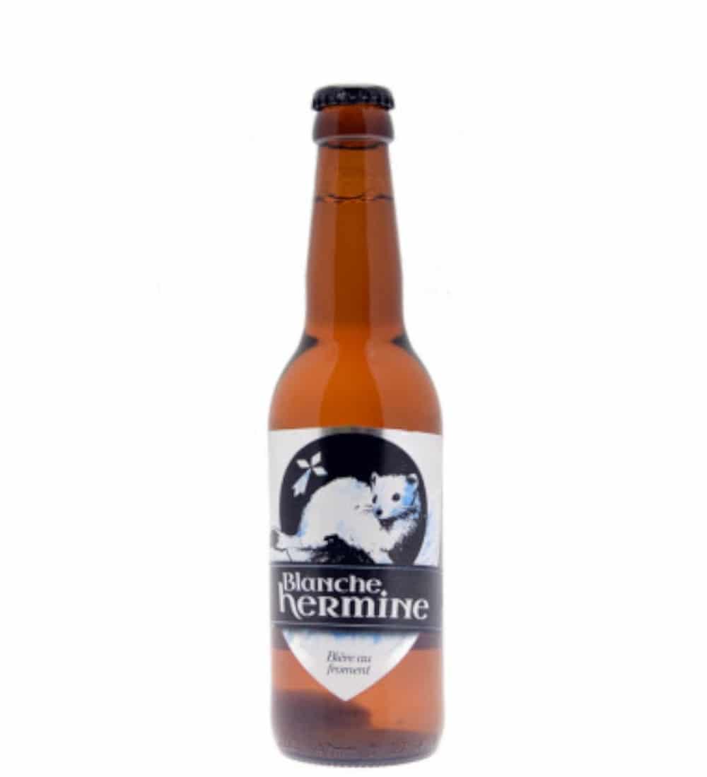 biere blanche hermine 33cl